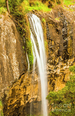 Cliff Wall Art - Photograph - Blackwood Forest Waterfall by Jorgo Photography - Wall Art Gallery