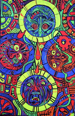 Blaclitetrip Print by Ottoniel Lima