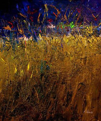 Blades Of Grass Original by Ruth Palmer