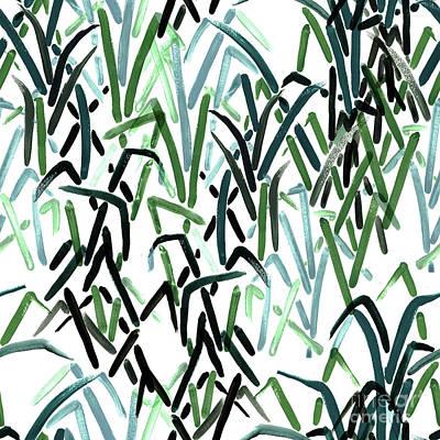 Digital Art - Blady Grass by Marni Stuart