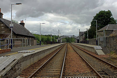 Photograph - Blair Atholl Station by Tony Murtagh
