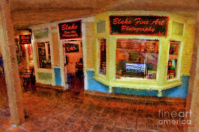 Photograph - Blake Fine Art Gallery 700 Cannery Row by Blake Richards