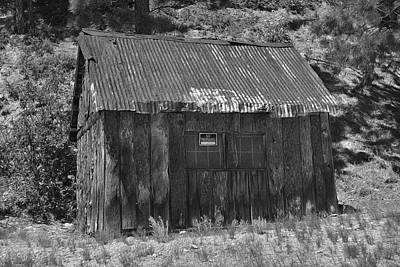 Photograph - Blake Gulch Shed 2 by Richard J Cassato