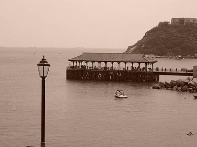 Photograph - Blake Pier At Stanley 2 by Michael Canning