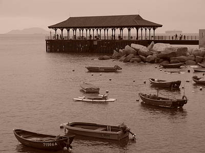 Photograph - Blake Pier At Stanley Hong Kong by Michael Canning