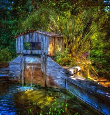 Photograph - Blakes Pond House by Thom Zehrfeld