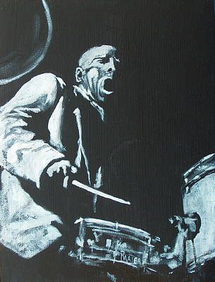 Painting - Blakey by Pete Maier