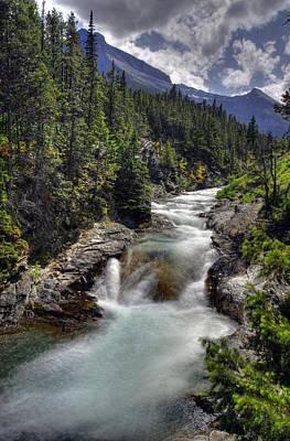 Photograph - Blakiston Creek by Don Wolf