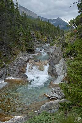 Photograph - Blakiston Creek by Kenneth Hadlock