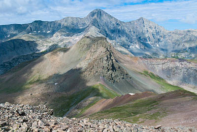 Photograph - Blanca Peak And Ellingwood Point by Cascade Colors