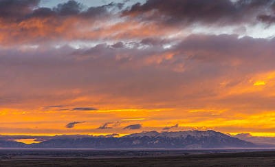 Photograph - Blanca Sunrise by John Brink