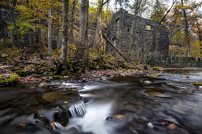 Photograph - Blanchard Mill by Joe Sparks
