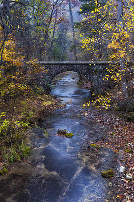 Photograph - Blanchard Stone Bridge by Joe Sparks