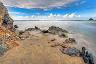 Photograph - Blanchisseuse Bay by Nadia Sanowar
