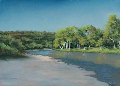 Blanco River Art Print by Pat Neely