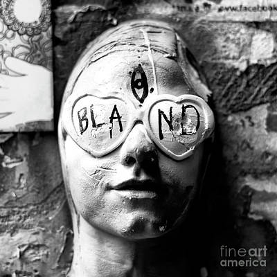 Photograph - Bland by John Rizzuto