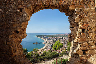 Photograph - Blanes Town From St John Castle by Artur Bogacki