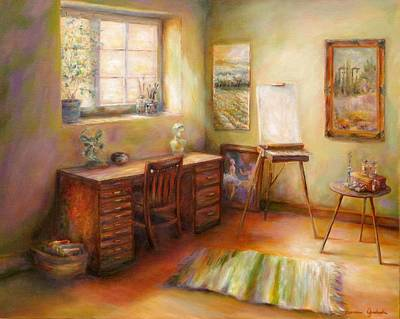 Painting - Blank Canvas by Bonnie Goedecke