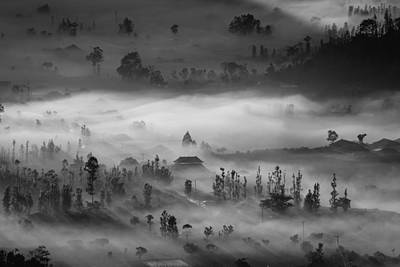 Aerial Photograph - Blanket by Efraim Dastanta Ginting