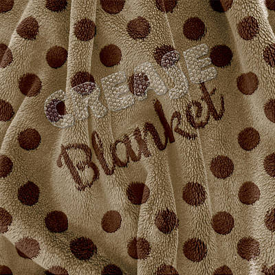 Digital Art - Blanket by La Reve Design