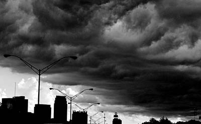 Photograph - Blanket Over Atlanta by Eileen Brymer