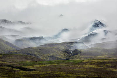 Designs In Nature Photograph - Blanket Over The Mountains by Jon Glaser