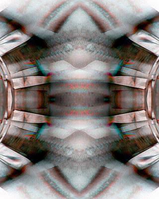 Test Pattern Digital Art - Blanket_0025 by Alex W McDonell