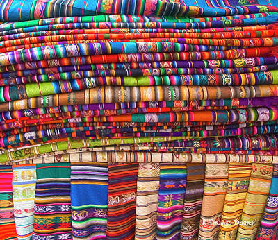 Photograph - Blankets For Sale by R Thomas Berner