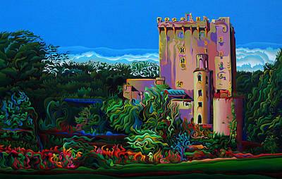 Blarney Castle Painting - Blarnessence by Amy Ferrari