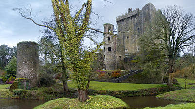 Horizontal Art Photograph - Blarney Castle 3 by Mike McGlothlen