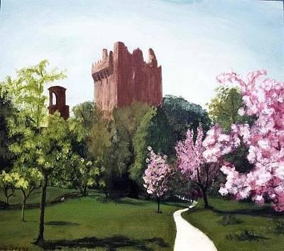 Blarney Castle Painting - Blarney Castle by Barbara Briggs