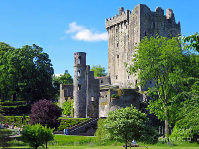 Photograph - Blarney Castle  by Cindy Murphy - NightVisions