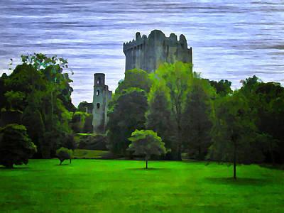 Blarney Castle Photograph - Blarney Castle Ireland by Bill Cannon