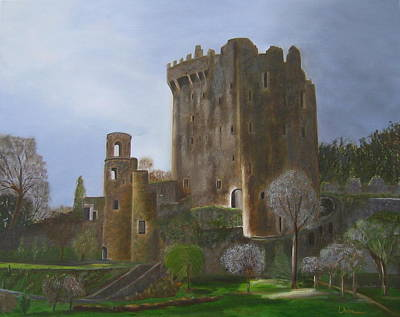 Painting - Blarney Castle by LaVonne Hand