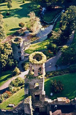 Blarney Castle Photograph - Blarney Castle Ruins In Ireland by Douglas Barnett