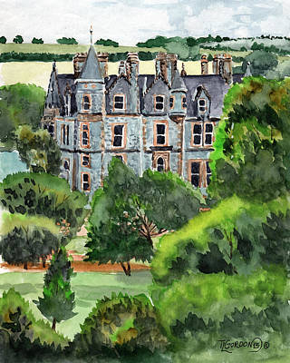 Painting - Blarney Castle by Timithy L Gordon