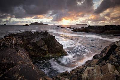 Photograph - Blasket Sunset, Kerry Ireland by Peter McCabe