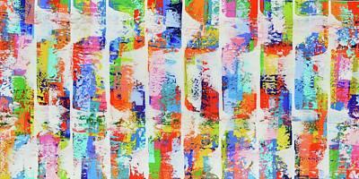 Painting - Blast by Elizabeth Langreiter