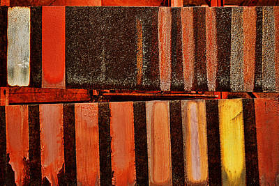 Photograph - Blast Furnace -  Iron Ore - Abstract - 1  by Nikolyn McDonald