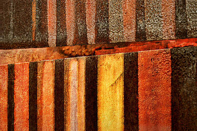Photograph - Blast Furnace - Iron Ore - Abstract - 2  by Nikolyn McDonald