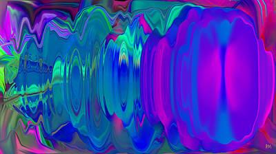 Digital Art - Blast Of Sound by Phillip Mossbarger