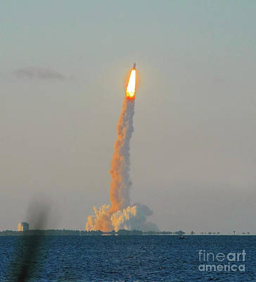 John F Kennedy Space Center Photograph - Blast Off by David Lee Thompson