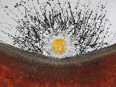 Painting - Blast Original Painting by Sol Luckman