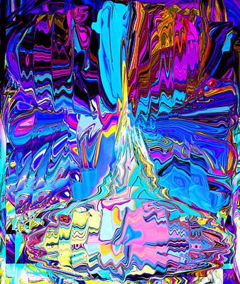 Digital Art - Blast by Phillip Mossbarger