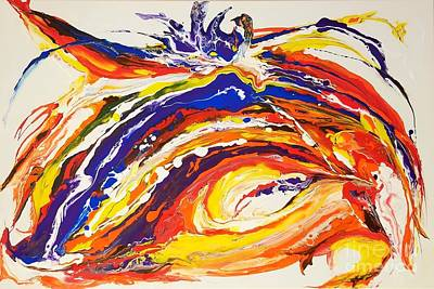 Painting - Blastastic by Sandra Lett