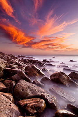 Red Rock Photograph - Blaze Of Color by Jorge Maia