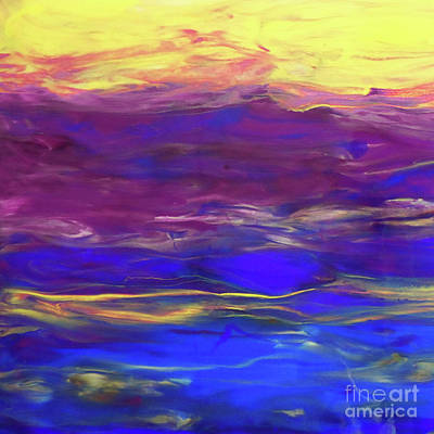 Painting - Blaze Of Glory by Jane Biven