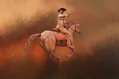 Photograph - Blazin' Saddle by Donna Kennedy
