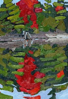 Blazing Crimson Original by Phil Chadwick