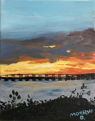 Easterseals Painting - Blazing Sun by Matthew B